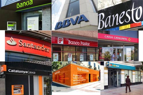 Bancos m s solventes de espa a for Oficinas de banco financiero