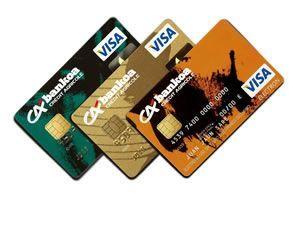 tarjeta de crédito escolta pequeño